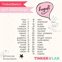 Hi friends! Are you up for an August sketchbook challenge? We have a fun new spread of art prompts to to keep you and yo Sketchbook Prompts, Sketchbook Assignments, Sketchbook Challenge, Art Journal Prompts, Art Sketchbook, Poetry Prompts, Junk Journal, Art Journaling, Journals