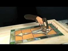 Building a Leaded Stained Glass Window with #NoDays Quick Cure Method