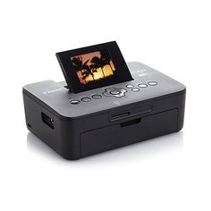 "Canon Compact Photo Printer with 2.7"" LCD and Software"