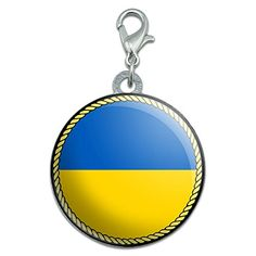 Flag of Ukraine Stainless Steel Pet Dog ID Tag *** Find out more about the great product at the image link. (Note:Amazon affiliate link)