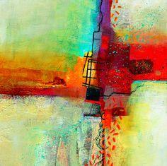 Pintura Abstracta Contemporánea Jane Davies Jane, Estados Unidos de América