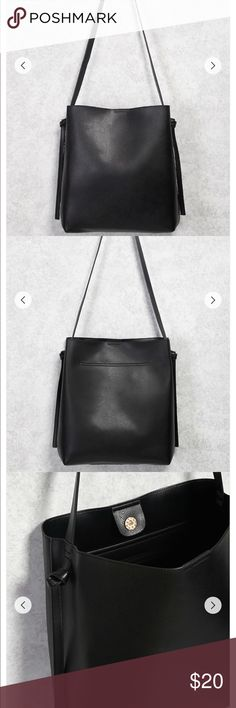 large faux leather tote bag brand new, couldn't return because removed the tags but it's a beautiful bag just too big for my liking. Forever 21 Bags Totes