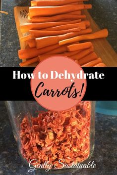 Excellent Toddler Shower Centerpiece Tips Learn How To Dehydrate Carrots To Make Them Last For A Good Long Time Dried Carrots Makes Meal Planning And Prep A Snap Dehydrated Vegetables, Dried Vegetables, Dehydrated Food, Veggies, Canning Food Preservation, Preserving Food, Winter Soups, Dehydrator Recipes, Canning Recipes