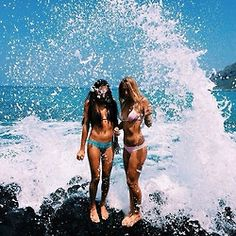 5 Overdone Spring Break Trips (& Where to Go Instead) This reminds me of something Summer Goals, Summer Of Love, Happy Summer, Summer Pictures, Beach Pictures, Best Friend Goals, Best Friends, Photos Black And White, Spring Break Trips
