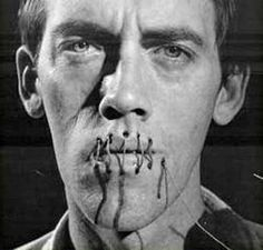 David Wojnarowicz poster image for the Rosa von Praunheim film Silence=Death, photographed by Andreas Sterzing. Mary Ellen Mark, Queer Art, Visual Aids, Dark Photography, Conceptual Photography, Artistic Photography, National Portrait Gallery, Foto Art, Advertising Photography