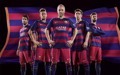 El Barça presenta la nueva equipación para la próxima temporada