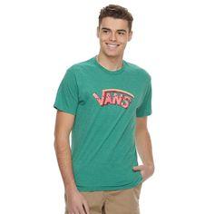 Men's Vans Fruitless Tee, Size: Medium, Lt Green