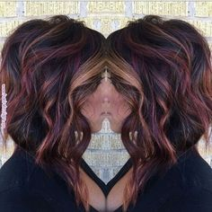 fall hair Hello from the other side, weve called a thousand times to tell you this color makes our heart flutter. Right, Adele heatherpaigelankford Hair Color And Cut, Haircut And Color, Violet Red Hair Color, Fun Hair Color, Black Cherry Hair Color, Pinterest Hair, Love Hair, Up Girl, Hair Today