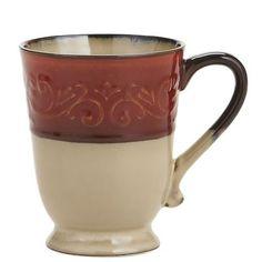 Red Scroll Mug - latest mugs