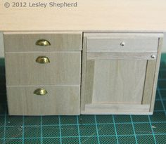 how to: three drawer kitchen base cabinets