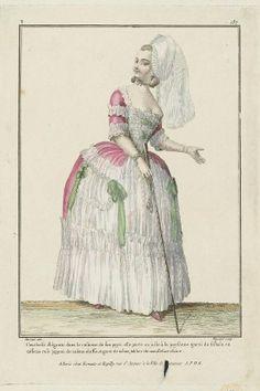 Gallerie des Modes, 1779.