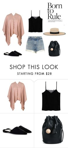 """""""soft rock"""" by echinazenit on Polyvore featuring Chesca, MANGO, River Island, Prada, Building Block and Tory Burch"""