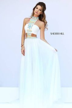 its almost a two piece but it also really really cute love this idea for prom.
