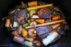 Slow Cooked Asian-Style Short Ribs {Whole30 Optional}