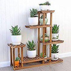 Resultado de imagen para wooden plant stand