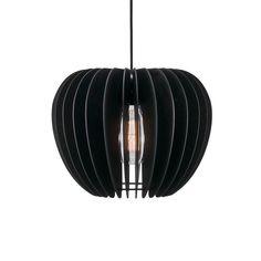 Jar Lights, Globe Lights, Globe Pendant, Lantern Pendant, Dar Lighting, Pendant Lighting, Black Pendant Light, Wooden Slats, Nordic Design