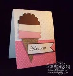 ice cream sandwich homemade greeting card - - Yahoo Image Search Results