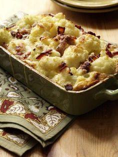 Cauliflower-Bacon Gratin