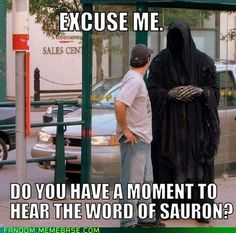 RM- And in the Darkness Save Us- LOL sauron meme