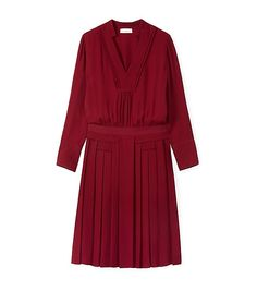 Tory Burch Pleated Silk Dress - Pleated dresses are to die for.