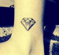 My new diamond tattoo