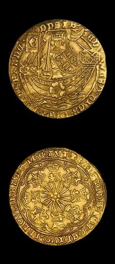 "Gold Ryal Edward IV ""light coinage"" (1461-1470). The gold ryal, also known as the rose noble, was an English gold coin first issued in 1464, during the ""first reign"" of Edward IV (1461-1470). Issued sporadically until the time of James I, the ryal represents one of the more scarce and challenging series of english coins for the serious collector; requiring deep pockets and patience to make significant headway."
