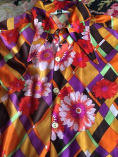 Amazing 1970s Vintage Men's DISCO Shirt by rememberwhenemporium