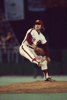 Tug McGraw, the great relief pitcher with the Phillies, delivers to the plate. Awards: All-Star ( ), World Series Chapion ( ) Nfl Steelers, Phillies Baseball, Baseball Park, Hockey Teams, Sports Teams, Hershey Bears, The Mick, Philadelphia Sports