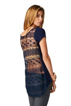 On Trend Lace Back Boyfriend Tee (Large) On Trend http://www.amazon.com/dp/B00K1SLO6K/ref=cm_sw_r_pi_dp_LcF6ub1D8E3SN