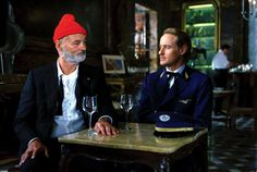 Steve Zissou is one of my fav men. And Bill Murray is not so bad either.