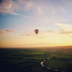 More hot air balloon! August 2011, Bath, England, UK - @jimardee- #webstagram