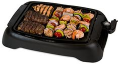 Smart Planet Sig 1 Indoor Smokeless Bbq Grill Black Electric Griddles Kitchen Dining