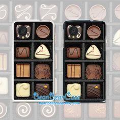 Sweet chocolate box cover case for Sony Xperia z3, z1, Xperia z, z1s, z2, z1 compact, Xperia M M2 case - Moto X X2 Moto G G2 2 E case (R10)