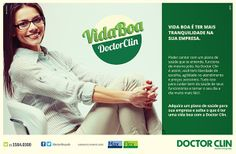 Campanha Vida Boa Doctor Clin #ad #print
