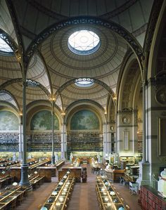Salle Labrouste - Bibliothèque Richelieu (Paris)