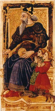 L'Imperatore - Tarocchi di Carlo VI