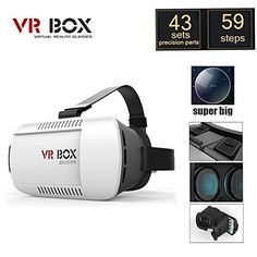 SunChon VR01 3D VR Virtual Reality Headset 3D Glasses for 4.7. Feature: Product Name: VR BOX. Weight: 300g. Material: high quality ABS material. Lens / transmittance: 42mm diameter aspherical optical resin lenses. Deformation / zoom: 1% -2% / 1.5-2 times. Cushioning material: high-grade PU + memory foam. Headband material: elastic nylon belt. Analog viewing distance: 3 m to watch 1000 inch giant screen. Viewing angle: 92-98. Support phone / System: 4.7-6 inch phone / Andrews win iOS…