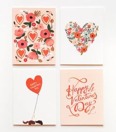 rifle paper co valentines