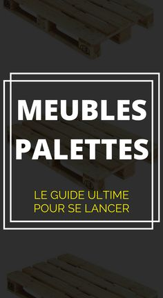 Furniture Craft Plans 461689399291819448 - ▶▶ meuble -en-palette/ Source by cdantindoula Diy Pallet Projects, Woodworking Projects Diy, Teds Woodworking, Pallet Ideas, Palette Table, Pallet Furniture, Pallet Bench, Wood Pallets, Home Deco