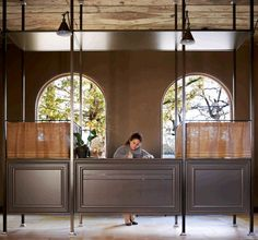 recetion desk | north block hotel | napa valley, california.
