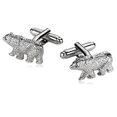 Personalised Engraved Message Box Select Gifts Panda Cufflinks Solid Sterling Silver 925