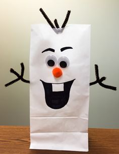 Olaf Thank you bags