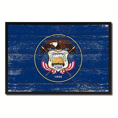 Utah State Flag Map Modern Style Black Custom Made Frame Design Handcrafted Artisan Primitive Plaque Shabby Chic Wall Art Décor Home Office Souvenir Gift Ideas AllChalkboard http://www.amazon.com/dp/B00ZJ9D5TK/ref=cm_sw_r_pi_dp_Pr0Ivb0SWNQ9N