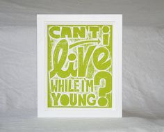 Hey, I found this really awesome Etsy listing at http://www.etsy.com/listing/99890205/phish-music-poster-cant-i-live-while-im