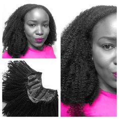 Afro kinky U-Part wig