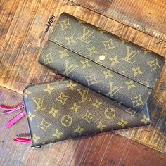 You can never have too much LV! Shop both wallets on www.mymoshposh.com! #louisvuitton #louisvuittonwallets #lvlover #lvobsessed #moshposhfinds #mymoshposh #designerhandbags #designerconsignment