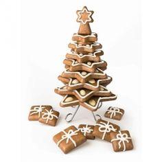 Mézeskalács kiszúró készlet (karácsonyfa)