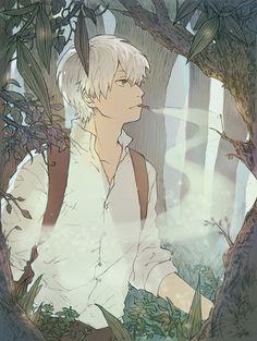/Ginko Mushishi/#1682067 - Zerochan | Artland | Yuki Urushibara / 「蟲師」/「冬夏」のイラスト…