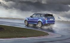 Wow factor:In a world first for Land Rover, the new Range Rover Sport SVR has a two-stage...