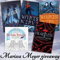 Marissa Meyer YA Books Giveaway